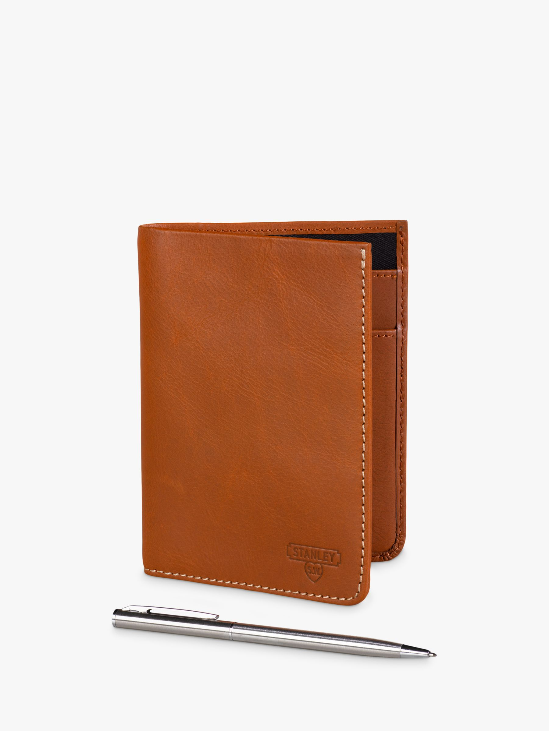 Stanley Stanley Leather Travel Wallet with Pen