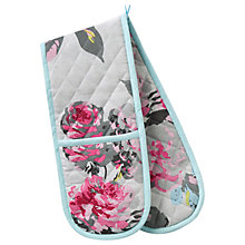 Buy Joules Floral Double Oven Glove Online at johnlewis.com