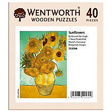 Buy Wentworth Wooden Puzzles Sunflowers Jigsaw Puzzle, 40 pieces Online at johnlewis.com