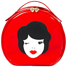Buy Tatty Devine Vintage Lady Vanity Case, Red Online at johnlewis.com