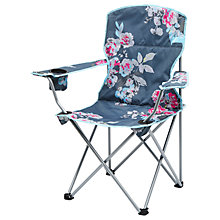 Buy Joules Floral Picnic Chair, Grey Online at johnlewis.com
