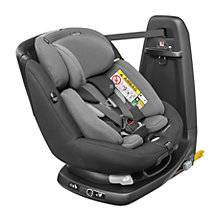 Buy Maxi-Cosi AxissFix Plus Group 0+ and 1 Car Seat, Black Raven Online at johnlewis.com