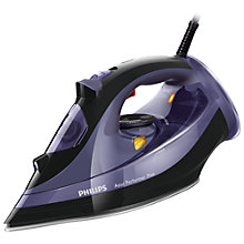 Buy Philips GC4525/30 Azur Performer Plus Steam Iron, Black/Purple Online at johnlewis.com