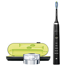 Buy Philips Sonicare HX9351/52 DiamondClean Rechargeable Sonic Toothbrush, Black Online at johnlewis.com
