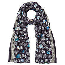 Buy White Stuff Heart Of Winter Scarf, Blue Online at johnlewis.com