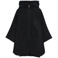Buy Gerard Darel Cozy Cape, Navy Blue Online at johnlewis.com