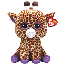 Buy Ty Beanie Boo Safari Plush Soft Toy, 40cm Online at johnlewis.com