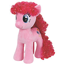 Buy Ty My Little Pony Pinkie Pie Extra Large Beanie Soft Toy, 70cm Online at johnlewis.com