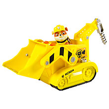 Buy Paw Patrol Rubble's Lights & Sounds Bulldozer Online at johnlewis.com