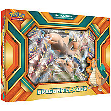 Buy Pokémon Trading Card Game Dragonite EX Box Online at johnlewis.com