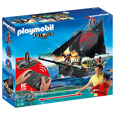 Click here for Playmobil Remote Control Pirate Ship