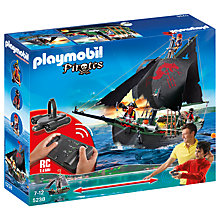 Buy Playmobil Remote Control Pirate Ship Online at johnlewis.com