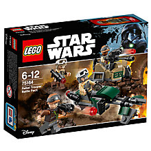 Buy LEGO Star Wars 75164 Rebel Trooper Battle Pack Online at johnlewis.com