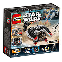 Buy LEGO Star Wars 75161 TIE Striker Microfighter Online at johnlewis.com