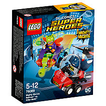 Buy LEGO DC Comics Super Heroes 76069 Mighty Micros: Batman Vs Killer Moth Online at johnlewis.com