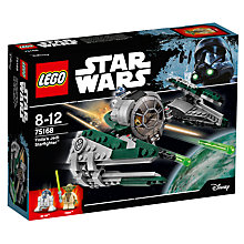 Buy LEGO Star Wars 75168 Yoda's Jedi Starfighter Online at johnlewis.com