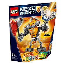 Buy LEGO Nexo Knights 70365 Battle Suit Axl Online at johnlewis.com