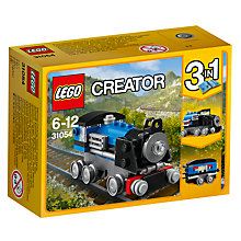 Buy LEGO Creator 31054 3 in 1 Blue Express Online at johnlewis.com
