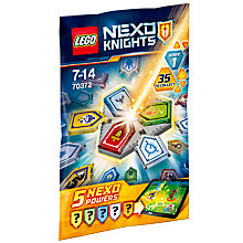Buy LEGO Nexo Knights 70372 Nexo Powers Mystery Pack, Assorted Online at johnlewis.com