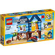 Buy LEGO Creator 31063 3 in 1 Beachside Vacation Online at johnlewis.com