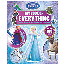 Buy My Book Of Everything, Disney Frozen Online at johnlewis.com