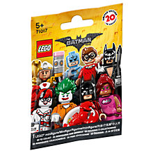 Buy LEGO The LEGO Batman 71017 Minifigure, Assorted Online at johnlewis.com