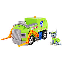 Buy Paw Patrol Rocky's Lights & Sounds Recycling Truck Online at johnlewis.com