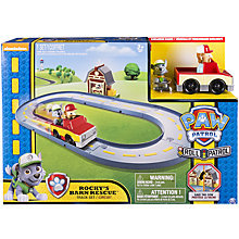 Buy Paw Patrol Rocky's Barn Rescue Track Set Online at johnlewis.com