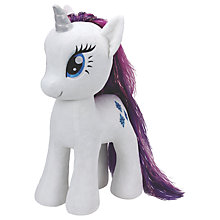 Buy Ty My Little Pony Rarity Extra Large Beanie Soft Toy, 70cm Online at johnlewis.com