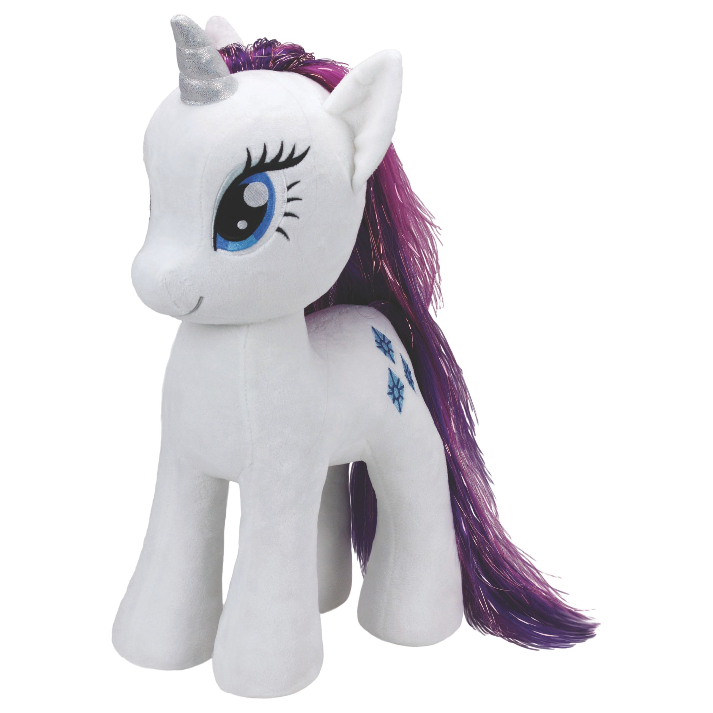 Ty Ty My Little Pony Rarity Extra Large Beanie Soft Toy, 70cm