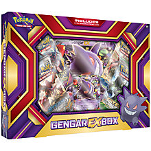 Buy Pokémon Trading Card Game Gengar EX Box Online at johnlewis.com