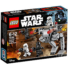 Buy LEGO Star Wars 75165 Imperial Trooper Battle Pack Online at johnlewis.com