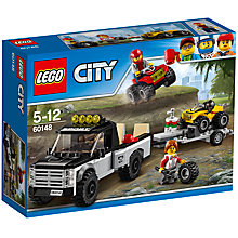 Buy LEGO City 60148 ATV Race Team Online at johnlewis.com