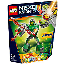 Buy LEGO Nexo Knights 70364 Battle Suit Aaron Online at johnlewis.com