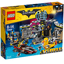 Buy LEGO The LEGO Batman Movie 70909 Batcave Break-In Online at johnlewis.com