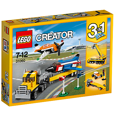 LEGO Creator 31060 3 in 1 Airshow Aces