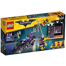 Buy LEGO The LEGO Batman Movie 70902 Catwoman Catcycle Chase Online at johnlewis.com