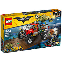 Buy LEGO The LEGO Batman Movie 70907 Killer Croc Tail-Gator Online at johnlewis.com