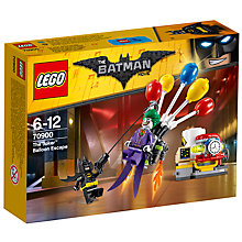 Buy LEGO The LEGO Batman Movie 70900 The Joker Balloon Escape Online at johnlewis.com