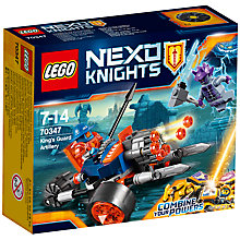 Buy LEGO Nexo Knights 70347 King's Guard Artillery Online at johnlewis.com