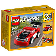 Buy LEGO Creator 31055 3 in 1 Red Racer Online at johnlewis.com