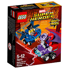 Buy LEGO Marvel Super Heroes 76073 Mighty Micros: Wolverine Vs Magneto Online at johnlewis.com