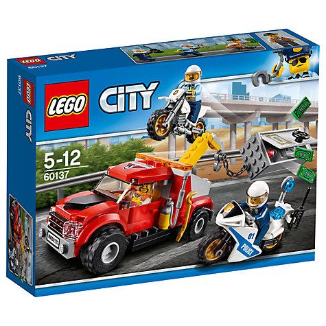 buy lego city 60137 tow truck trouble john lewis. Black Bedroom Furniture Sets. Home Design Ideas