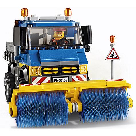 Buy Lego City 60152 Sweeper And Excavator John Lewis