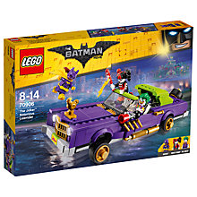 Buy LEGO The LEGO Batman Movie 70906 The Joker Notorious Lowrider Online at johnlewis.com