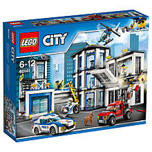 Buy LEGO City 60141 Police Station Online at johnlewis.com