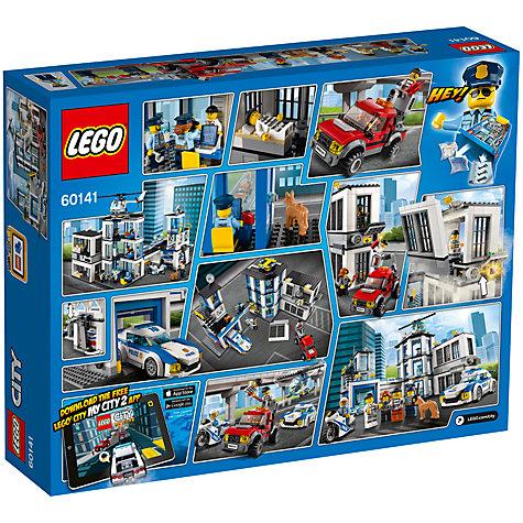 buy lego city 60141 police station john lewis. Black Bedroom Furniture Sets. Home Design Ideas