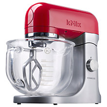 Buy Kenwood kMix KMX51G Stand Mixer, Red Online at johnlewis.com