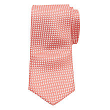 Buy Ted Baker Leysaa Plain Weave Silk Tie, Pink Online at johnlewis.com