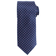 Buy John Lewis Circle Dot Woven Silk Tie Online at johnlewis.com